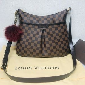 Authentic Louis Vuitton Bloomsbury PM Crossbody DE